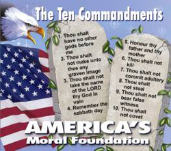 Ten Commandments of Moses